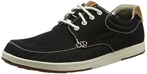 clarks-mens-norwin-vibe-low-top-sneakers-black-black-textile-6-uk