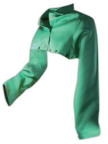 magid-1855xl-sparkguard-flame-resistant-cotton-cape-sleeve-green-xl-each-by-magid-glove-safety