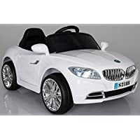 """Ricco S2188 """"Lights and Music Pink BMW Style Kids Ride on"""" Remote Control Car"""