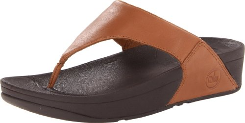 Fitflop Lulu, Sandali da donna, Colore Marrone (Toffee/Tan), Taglia 4 UK (37 EU)