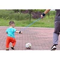 Amoy.B 1.5 m Niño Naranja Anti-perdida con Cuerda de Tracción Bebé Niño Cuerda de Seguridad Anti-perdida Anti-perdida Pulsera Cuerda Anti-perdida * 1