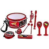 Cars - Set musical: 7 instrumentos en 1 (Lexibook K360DC)