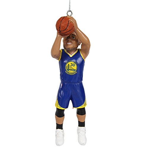 FOCO Golden State Warriors Curry S. #30 2017 Resin Player Ornament -