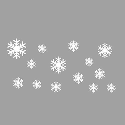 Sonnena Sticker mural La Reine des neiges Flocons de neige en vinyle Art amovible