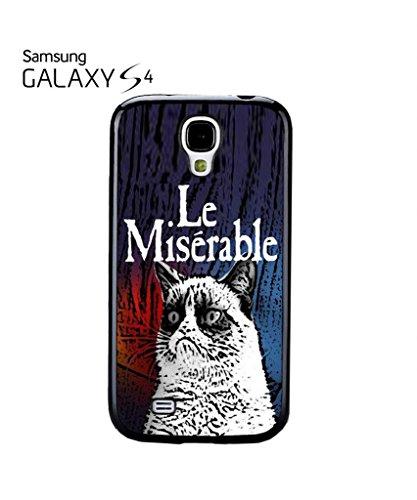 Les Le Miserable Grumpy Cat Mobile Cell Phone Case Samsung Galaxy S5 Mini Black Noir