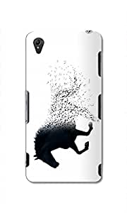 Back Cover for Sony Xperia Z5 GHOST HORSE