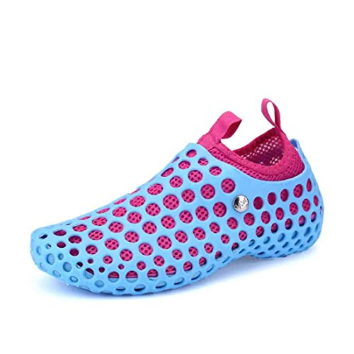 Men's Zapatillas Hombre Breathable Water Beach Casual Shoes Sky Blue