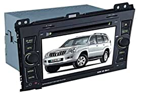 ChiLin Toyota Prado 2700/4000 Intelligent Syst¨¨me de navigation avec ¨¦cran tactile haute GPS Lecteur DVD GPS int¨¦gr¨¦, Bluetooth, TV, Radio AM / FM avec RDS, iPod, commande au volant, ¨¤ l'arri¨¨re d'entr¨¦e cam¨¦ra de vue