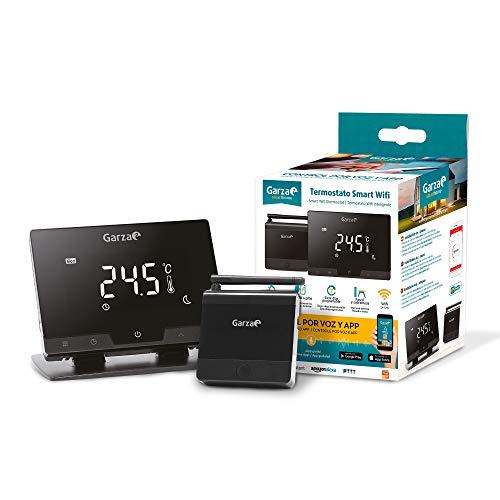 Garza 401267 Smarthome Termostato Smart Wifi Inteligente para Caldera y Cafación, Táctil...