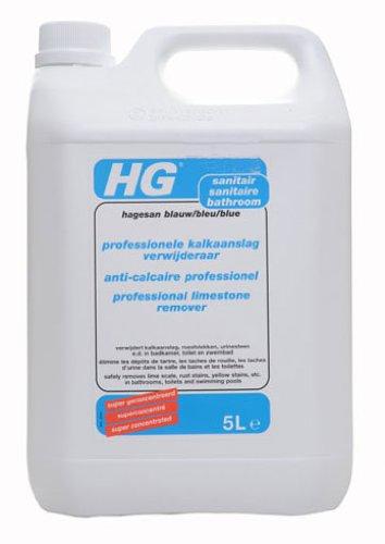 HG blu professionale di rimozione del calcare 5litro - Igienici Professionale