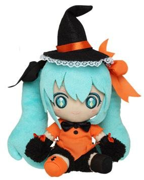 es 01: Hatsune Miku Original Halloween Version Plüschfigur: Hatsune Miku [Hexe] (Halloween Miku)