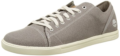 Timberland Newmarket-fulk Lp Toile, Chaussures Homme Low Oxford Gris (toile Grise)