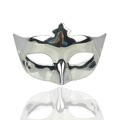 Kostüm Mardi Gras Erwachsene Für Queen - HUPLUE Damen Sexy Charm-Maske Party Maskenade Augenmaske Plating Prinzessin Maske Ball Maskerade Kostüm 1 Stück Silber