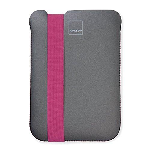 -Custodia sottile per iPad/iPad 2/iPad di terza e quarta generazione Grigio/Rosa (acme-made)