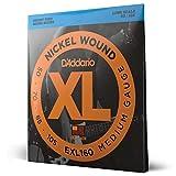 D'Addario EXL160 Set Corde Basso EXL