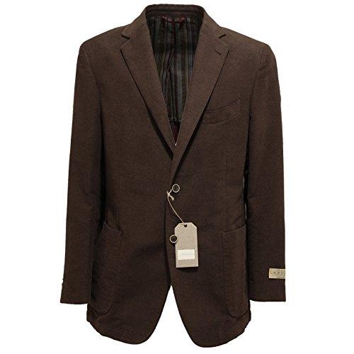 7575l-giacca-uomo-marrone-lardini-cotone-giacche-jackets-coats-men-54
