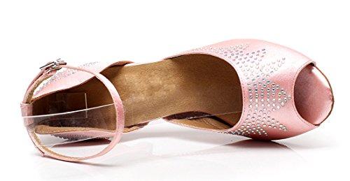 TDA - Peep-Toe donna 7.5cm Heel Pink