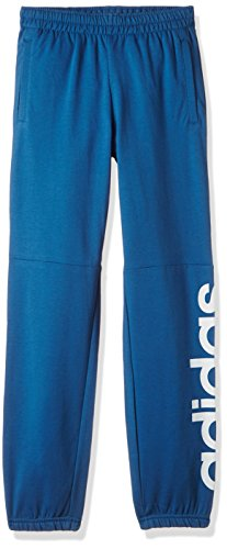 adidas Boys' Tracksuit (BK3482_Core Blue and Mystery Blue_152)