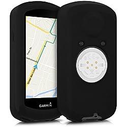 kwmobile Funda para Garmin Edge 1030 - protector para ordenador de bicicleta - Cover para GPS en negro