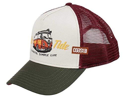 f3d2ed7a5463e COASTAL - Ride Tide (beige) - Trucker Cap Gorra del camionero de béisbol
