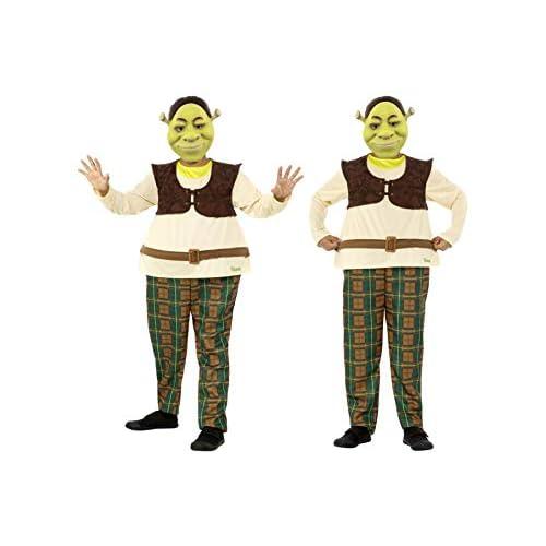 Fancy Dress World Disfraz Infantil de Shrek de DreamWorks, Color Verde, con máscara Todo en uno y EVA 41512 4