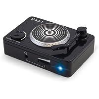 ION Audio Vinyl Forever - Adaptador de tocadiscos para la conversión digital de LP Audio