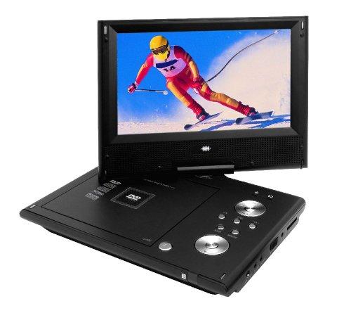 "Portable DVD-Player 9"" LCD/TFT-Bildschirm +FB + Zubehör"