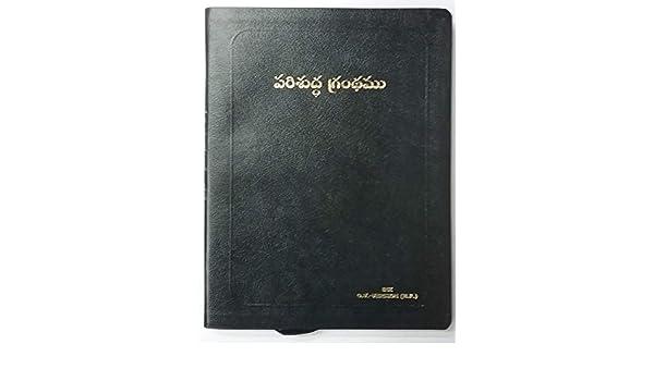 Buy Telugu Bible Big Print with Gold Edge Book Online at Low