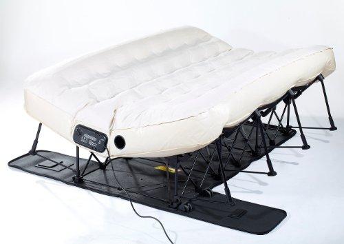 Carlo Milano Gästebett: Luxus-Luftbett mit integrierter Pumpe, 200 x 140 cm (Gäste Luftbetten) - 3