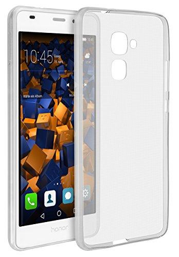 mumbi UltraSlim Hülle für Huawei Honor 5C Schutzhülle transparent (Ultra Slim - 0.55 ()