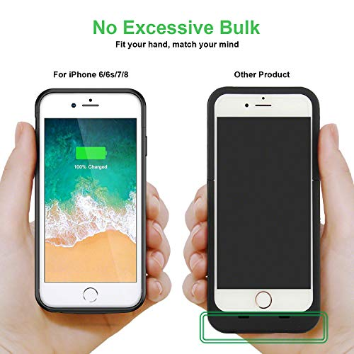 Cover custodia stile pila batteria per iPhone Apple