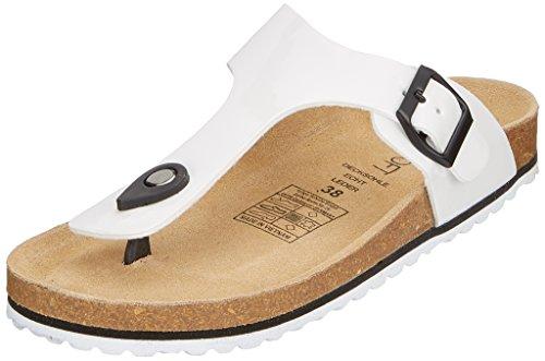 Supersoft Damen 274 513 Pantoffeln, Weiß (White), 36 EU