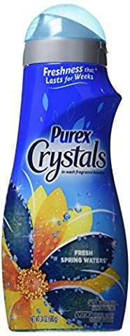 Purex Crystals Laundry Enhancer, Fresh Spring Waters, 24 Ounce by Purex