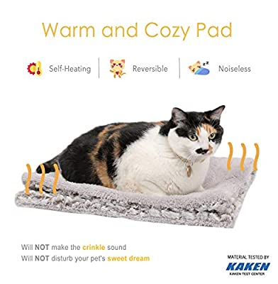 Mora Pets Self Heating Pet Pads Pet Blanket/Self Heated Cat Dog Bed/Pet Thermal Mat Blanket 70 x 47 cm