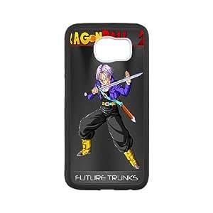 Future Trunks Dragon Ball Z 001 Samsung Galaxy S6 Case coque Cover Blanc téléphone cellulaire coque de Housse EOKXLLNCD05357