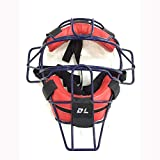 Instag Máscara de béisbol Softbol Catchers Casco Profesional Protección de Seguridad Casco Alambre de Acero