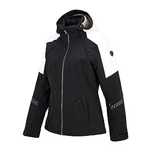 Ziener Damen TRINE LADY jacket Ski Snowboard-Jacke/atmungsaktiv, wasserdicht, Black, 34