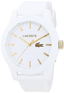 Lacoste 2010819 - Reloj analógico de Pulsera para Hombre, Correa de Silicona de Lacoste