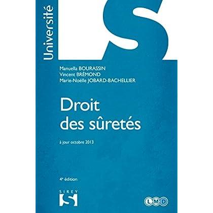 Droit des sûretés - 4e éd.