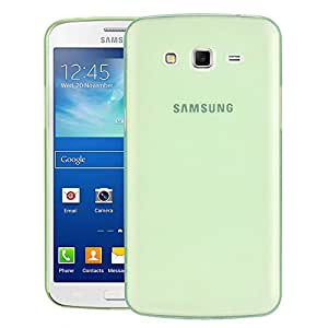 JACKET Grand 2 G7102 Case, [Scratch Resistance Only 0.5mm][For Minimalists][True Fit] Case Back Cover for Samsung Galaxy Grand 2 G7102 - Green