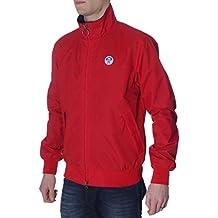 North Sails - Chaqueta deportiva - para hombre 70 Red XL