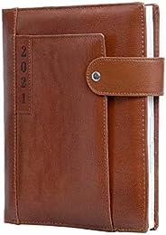 AONA 2021 Executive New Year Leather Diary,24.5 cm x 18 cm x 3.0 cm
