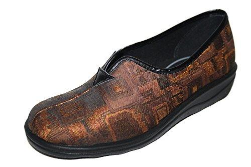 Romika , chaussures compensées femmes Marron - Marron (bronze)
