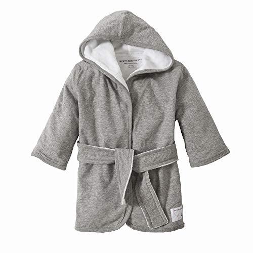 Orgánicos punto tejido rizo capucha bebé bata jaspeado