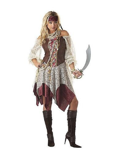 iren Pirate Fancy Dress Costume Outfit (Women: 10-12) by california costume (Pirate Fancy Dress Womens)