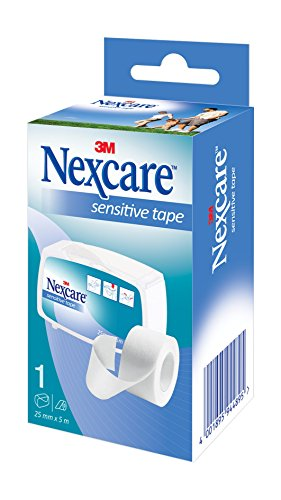 Nexcare N1530-1D Sensitives Fixierpflaster, latexfrei, 25 mm x 5 m