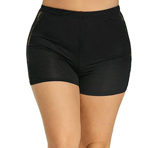 Mounter Women Lace Plus Size Tiered Skirts Short Skirt Under Safety Pants Shorts Women's Safety Shorts Invisible Seamless Boxer Briefs Underwear Boyshort