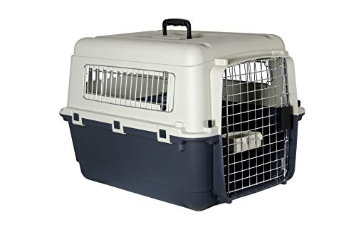 Karlie Flugzeugbox Nomad, Größe M (ohne Rädern) 68 x 51 x 47 cm - Katze Transportbox