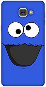 The Racoon Grip Cookie Monster hard plastic printed back case / cover for Samsung Galaxy A9(2016)