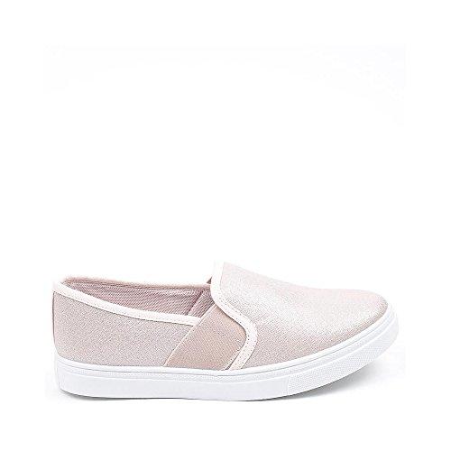 Ideal Shoes, Mocassini donna Rose